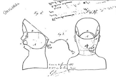 最も古い特許申請時のスケッチ